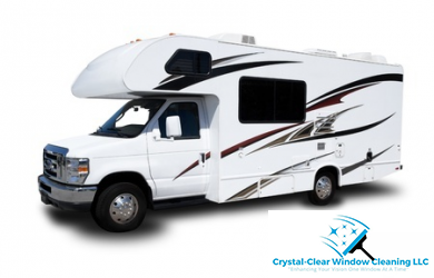 Crystal-Clear Cleaning-Exterior Mobile RV Detailing Package, a $280 Value for Only $140!