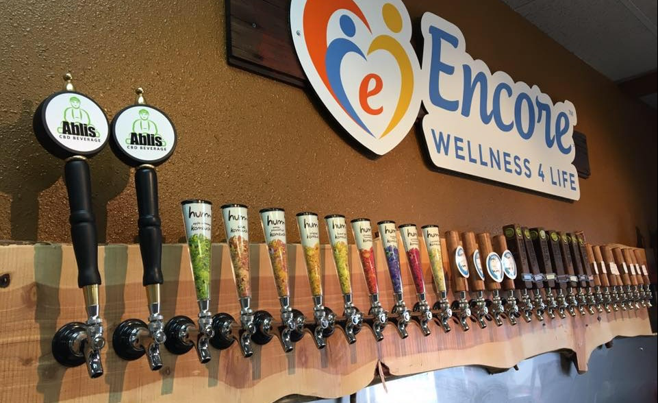 Encore Wellness 4 Life-50% Off a 64 oz Kombucha Growler Fill at Encore Wellness 4 Life!