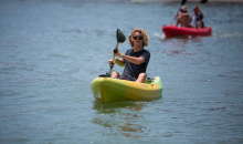 Carlsbad Lagoon-$27 for a 2-hour Kayak, Canoe, Stand-Up Paddle Board, Peddle Boat or Aqua Cycle Rental! ($50 Value)