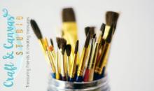 Craft and Canvas-Crafty Kids Spring Break Workshop April 2-5 1:00-3:00pm
