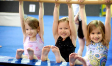 Mid-Columbia Gymnastics-FIVE Indoor Playground or Open Gym Passes at Mid-Columbia Gymnastics for Only $10!