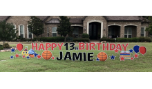 Sign Dreamers Tri-Cities-Personalized Yard Greeting from Sign Dreamers, a $70 Value for ONLY $35!