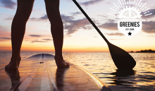 Greenies-50% Off  2-Hour Stand Up Paddle Board Rental from Greenies, a $30 Value for Only $15!