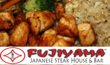 Fujiyama Japanese Steakhouse & Bar-$40 of Food and Beverages at Fujiyama Japanese Steak House for Only $20!