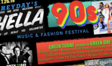Heyday-$25 for TWO Tickets to HELLA 90's Music and Fashion Festival at Mount Palomar Winery July 26, 2019