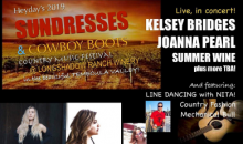 Heyday-$25 for 2 tickets to SUNDRESSES & COWBOY BOOTS Country Music Festival at Longshadow Ranch Winery
