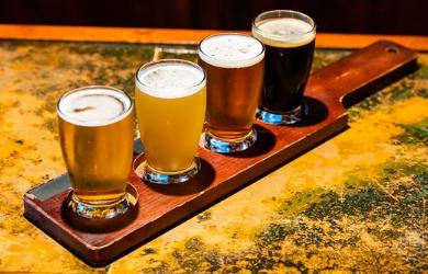 Craft Brewing Company -Half-off Flight of Craft Beer (4 tastings)