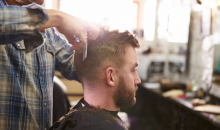 The Barber Life Studio ll-Men's Haircut, Hot Towel Shave & Charcoal Mask at The Barber Life Studio ll, a $62 value ONLY $29!