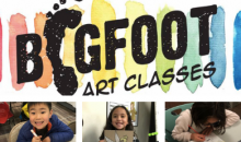 Bigfoot Art Classes-Half-Off After School Art Class