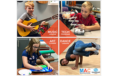 Boys and Girls Club -2 Months of Weekly Youth Music, Arts & Tech Classes, a $120 value for only $39!