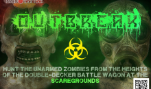 Red Dot Paintball-2 Tickets to Outbreak at Scaregrounds a $40 Value for Only $20!