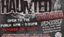 JDS Creative Academy-Two Admission Tickets to Haunted Studio October 25th and 26th!