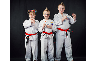 Tri-Cities Black Belt Taekwondo-4 Weeks of Taekwando Training (unlimited classes), Uniform & Belt, a $150 Value, for only $19!