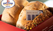 Great Harvest Bread Co.-Great Harvest Christmas Box - Loaded with Fresh Baked Breads & Goodies a $130 Value for ONLY $65!