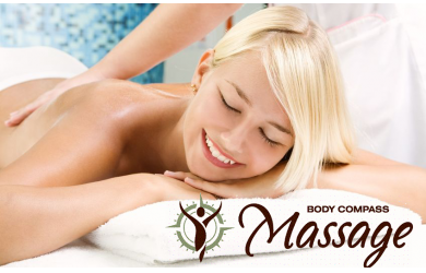 Body Compass Massage-Gift Certificate for a 30-Min Infrared Sauna Session + 60-Min Massage, a $120 Value for Only $59!