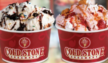 Cold Stone Creamery -$5 for $10 worth of Delicious Handcrafted Ice Cream