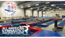 All American Gymnastics-$50 towards Classes and Open Gym at All American Gymnastics for ONLY $25!