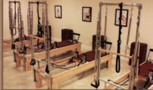 The Studio: Pilates -TRX -Yoga - Spinning-4 Private Pilates Equipment Sessions for only $89.00! (Reg. $220)