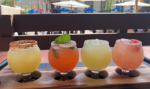 Be Good Restaurant & Experience-Margarita Flight at Be Good Restaurant
