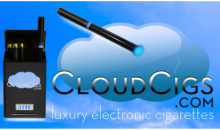 CloudCigs Luxury Electronic Cigarettes-58% OFF Eco-Smart Luxury Electronic Cigarette Starter Kit