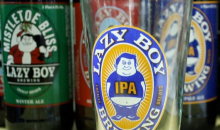 Lazy Boy Brewing-Beer Sampler and Filled Growler at Lazy Boy Brewing