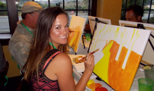 Paint Nite-$25 for a 2 Hour Painting Event at Numerous San Diego County Bars & Restaurants