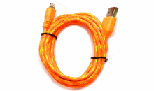 J Fields Enterprises LLC-6' Braided Rope iPhone 5 Charger + Data Sync Cable for only $8.99!