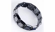Desmond-Graham Enterprises-$12 Black Magnetic Genuine Hematite Bracelet