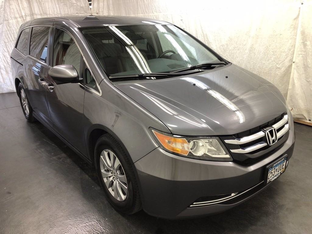Used 2016 Honda Odyssey EX with VIN 5FNRL5H48GB094823 for sale in White Bear Lake, Minnesota