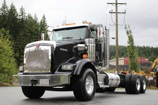 2016 Kenworth T800 Extended Day Cab Tandem