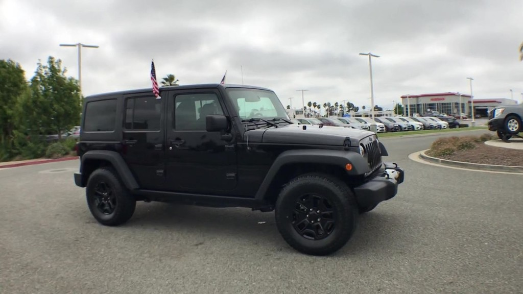 2017 Jeep Wrangler Unlimited Willys Wheeler Sport Utility
