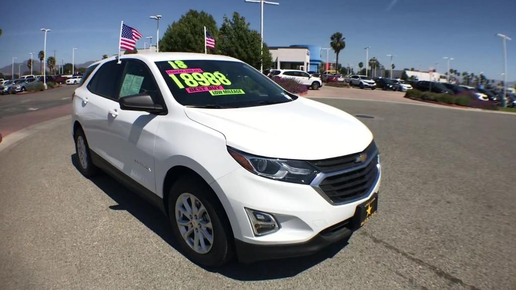 2018 Chevrolet Equinox LS Sport Utility
