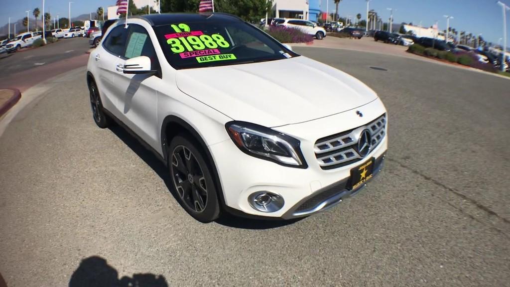 2019 Mercedes-Benz GLA GLA 250 Sport Utility