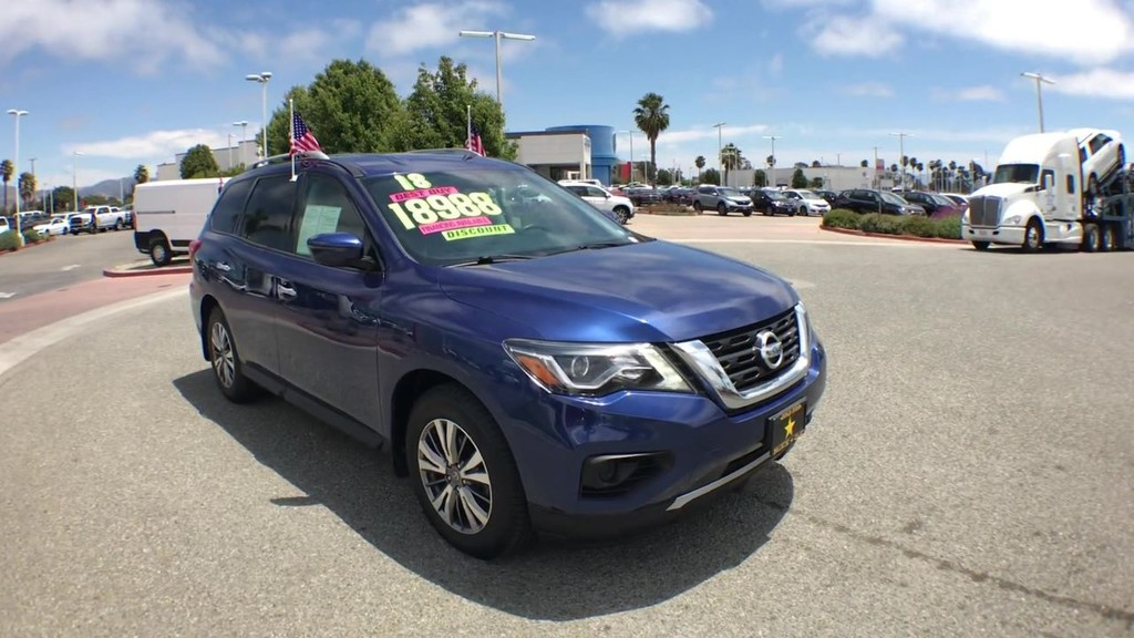 2018 Nissan Pathfinder S Sport Utility