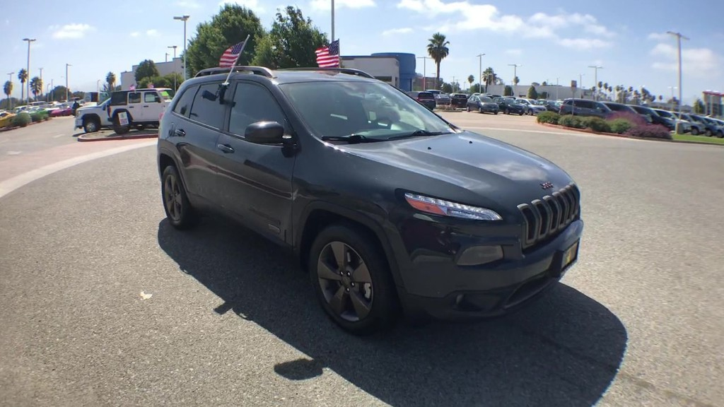 2017 Jeep Cherokee 75th Anniversary Sport Utility