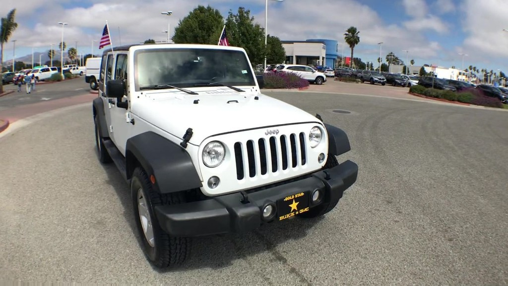 2018 Jeep Wrangler Unlimited Sport S (JK) Sport Utility