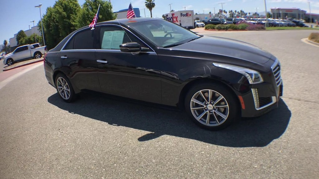 2017 Cadillac CTS 2.0 Luxury Sedan