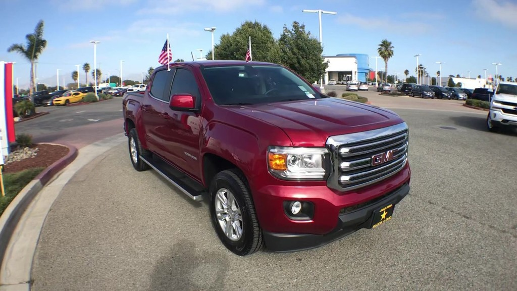 2019 GMC Canyon Crew Cab SLE Pickup 5 ft