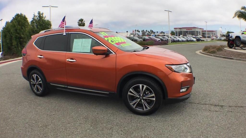 2017 Nissan Rogue SL Sport Utility