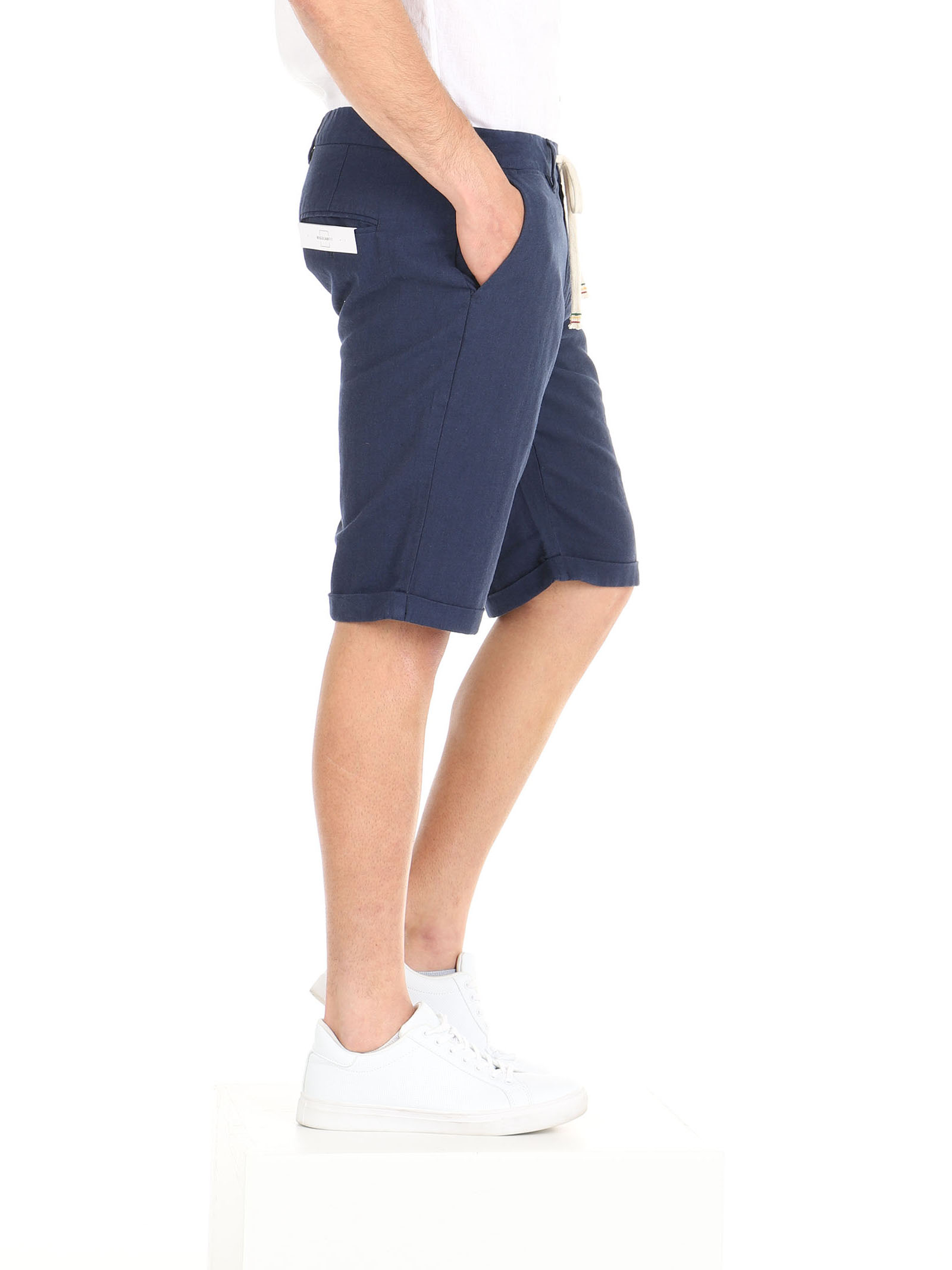 Shorts con coulisse De Lamp   Shorts   DL21 01018BLU
