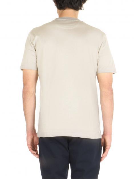 T-Shirt cotone mercerizzato De Lamp | T-Shirt | DL21 08034BEIGE