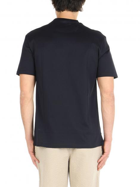 T-Shirt cotone mercerizzato De Lamp | T-Shirt | DL21 08034BLU