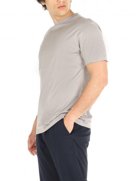T-Shirt cotone mercerizzato De Lamp | T-Shirt | dl21 08034NIKEL