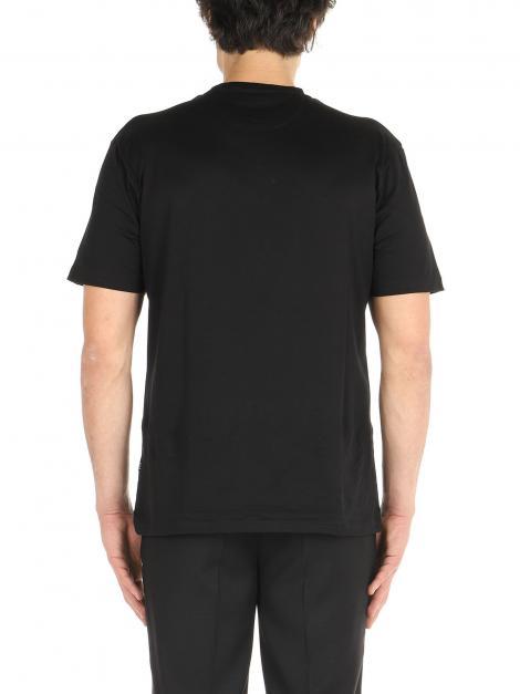 T-Shirt cotone mercerizzato De Lamp | T-Shirt | DL21 08034NERO
