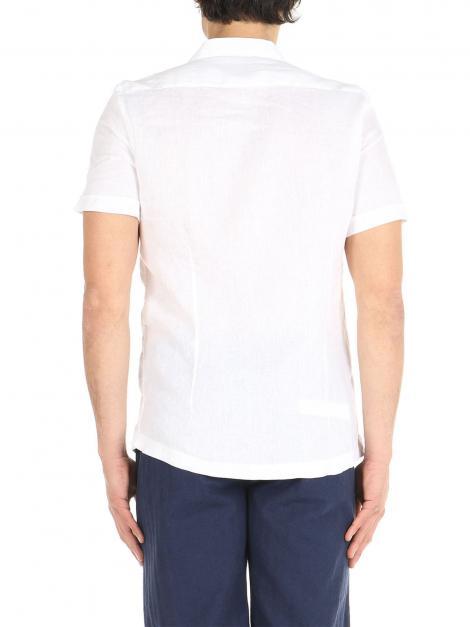 Camicia di lino mezze maniche De Lamp | Camicie  | DL21 3000MMBIANCO
