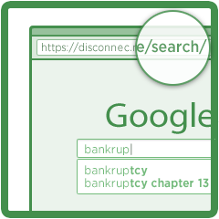 Search engines save your searches, which can be connected to your real name. Disconnect anonymizes your searches.
