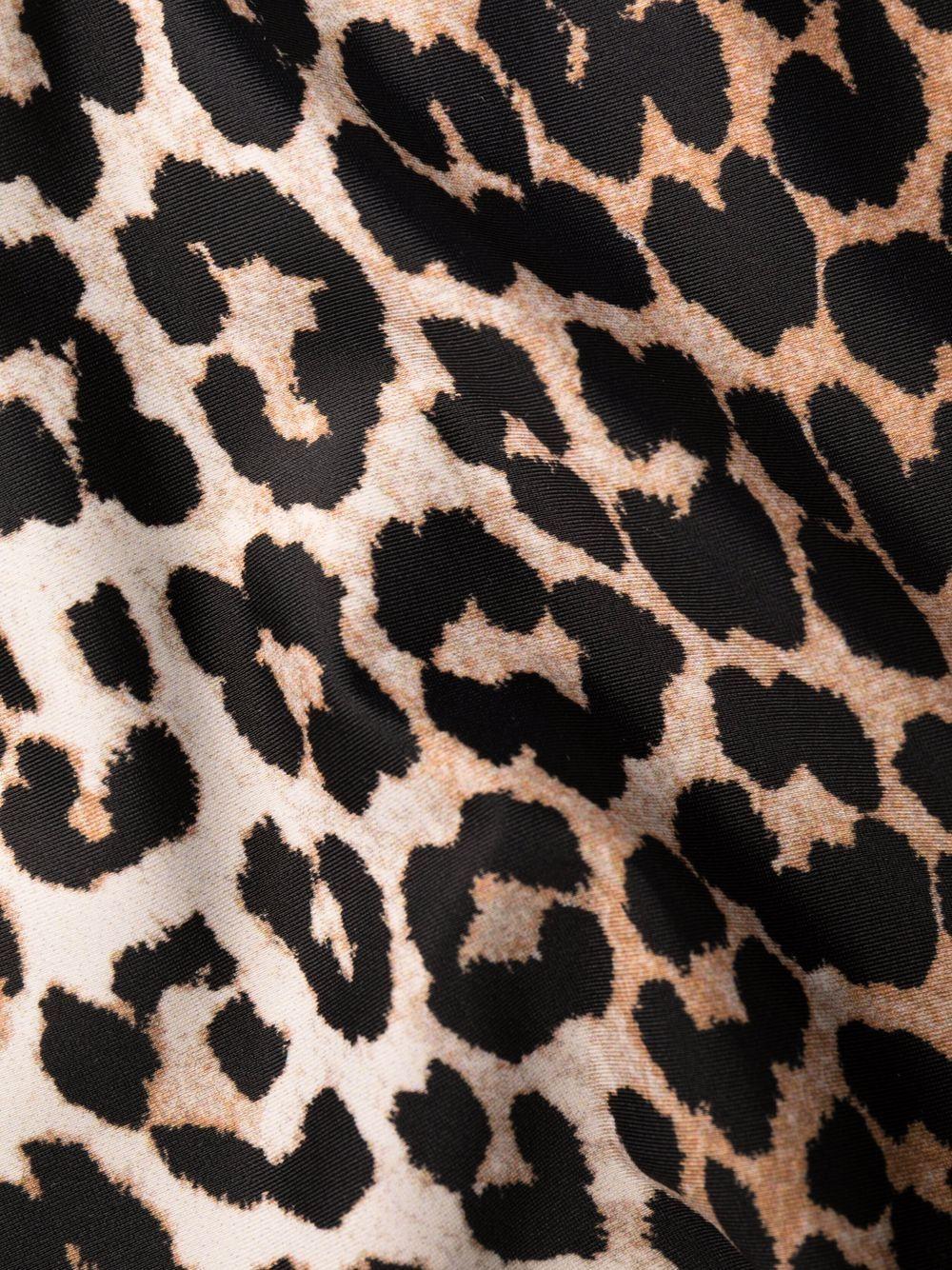 Costume intero stampa leopardata- donna GANNI   A3357943