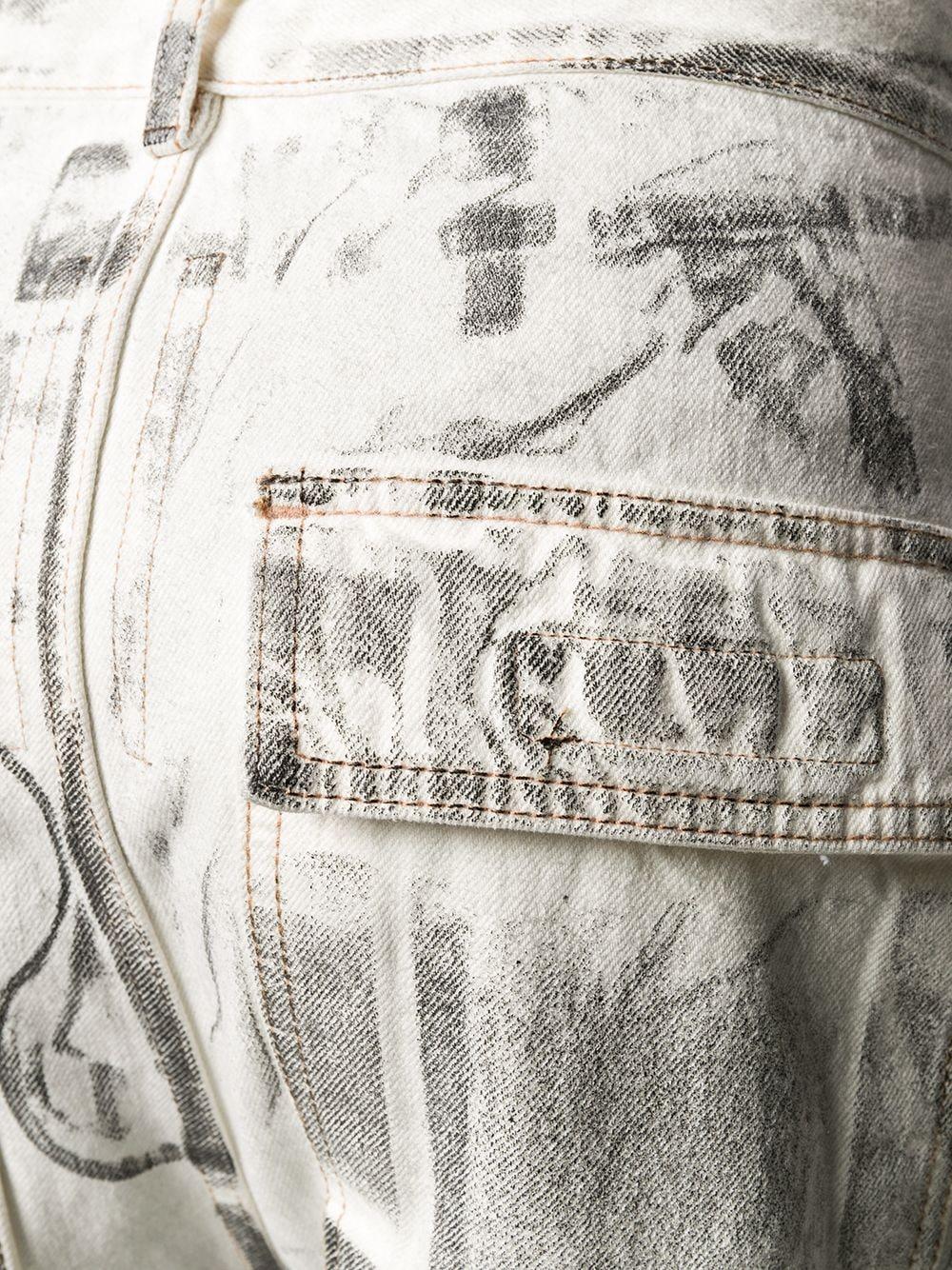 RICK OWENS DRKSHDW Jeans RICK OWENS DRKSHDW | Jeans | DU20S5365DZ91