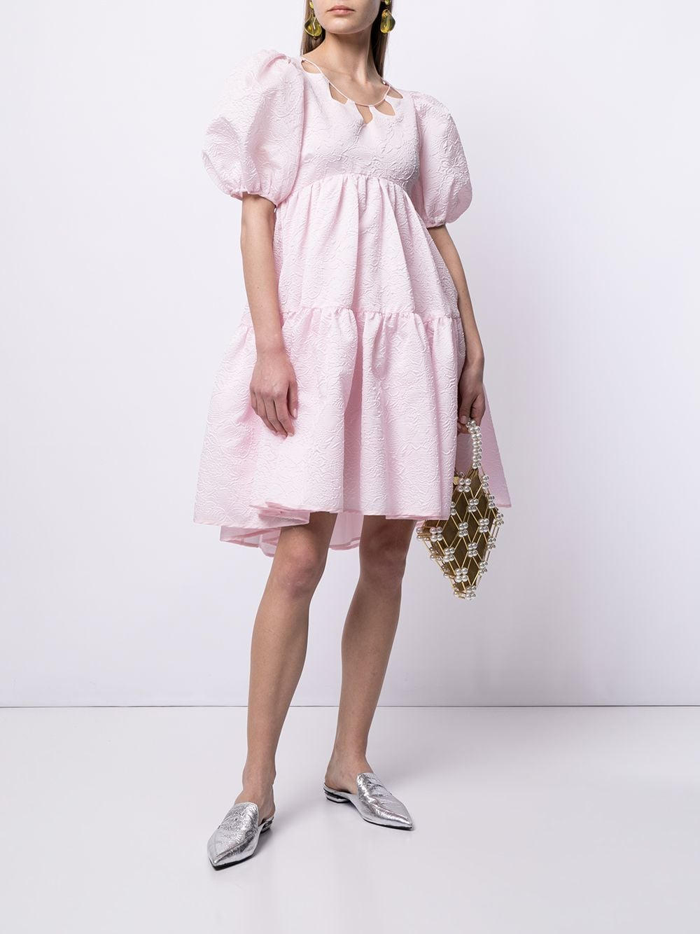 Cecilie bahnsen abito con maniche a palloncino donna blossom pink CECILIE BAHNSEN | Abiti | SS21020045BLSSMPNK