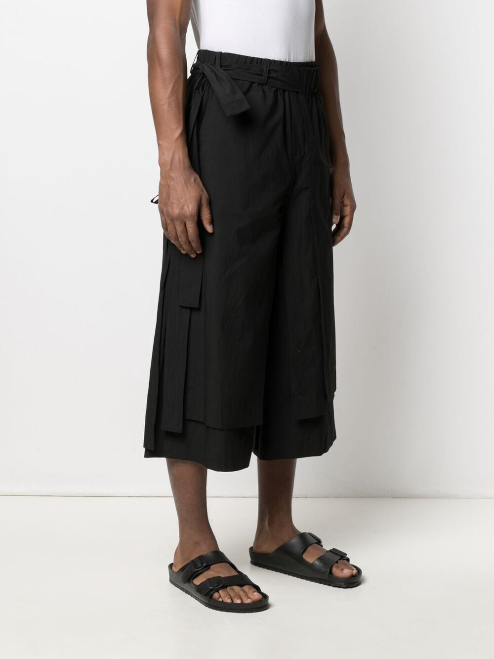 Craig green bermuda uomo black CRAIG GREEN | Bermuda | CGSS21CWOTRS05BLK